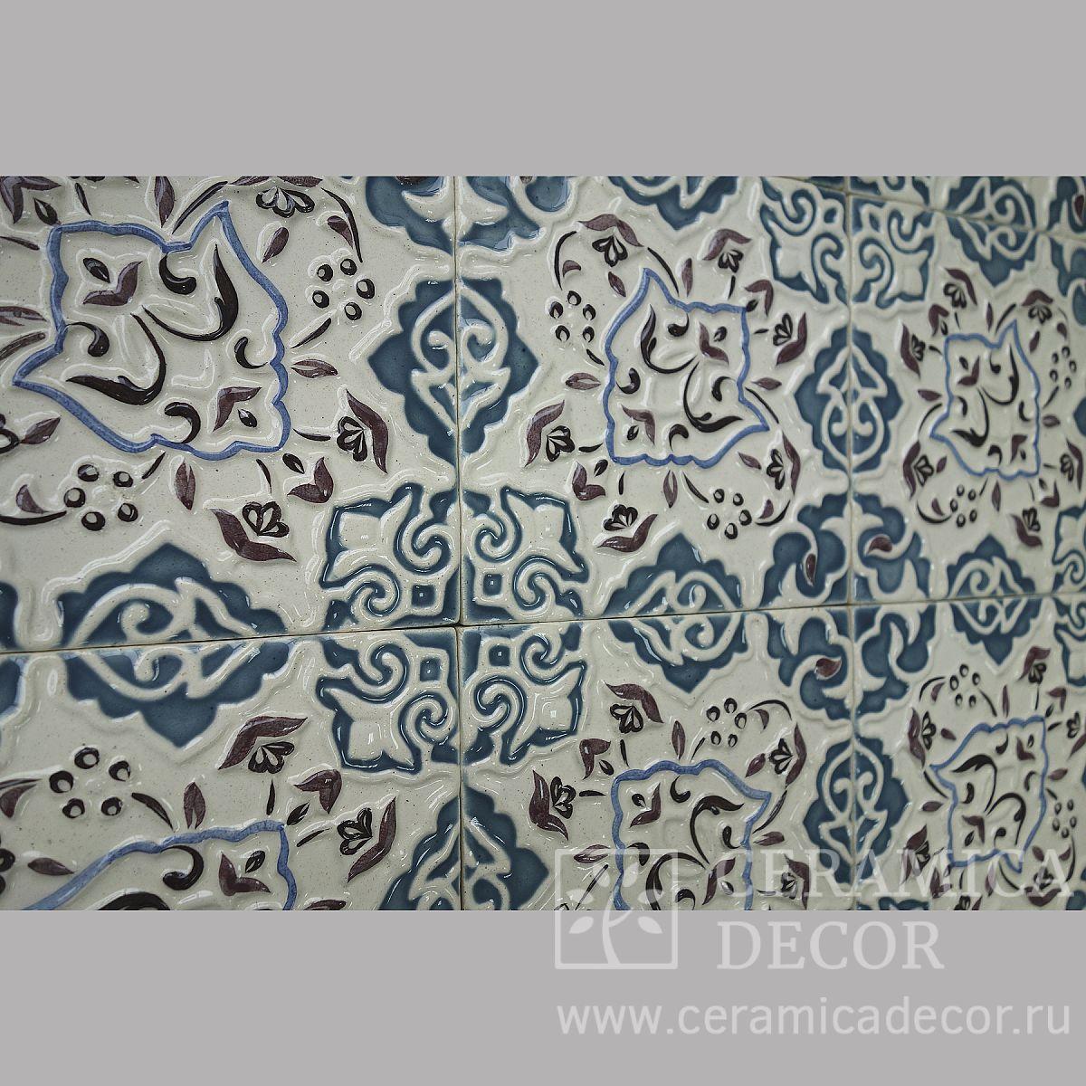 """Расписные изразцы """"Марокко"""""""